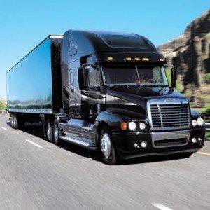 Blue Line Logistics Truck