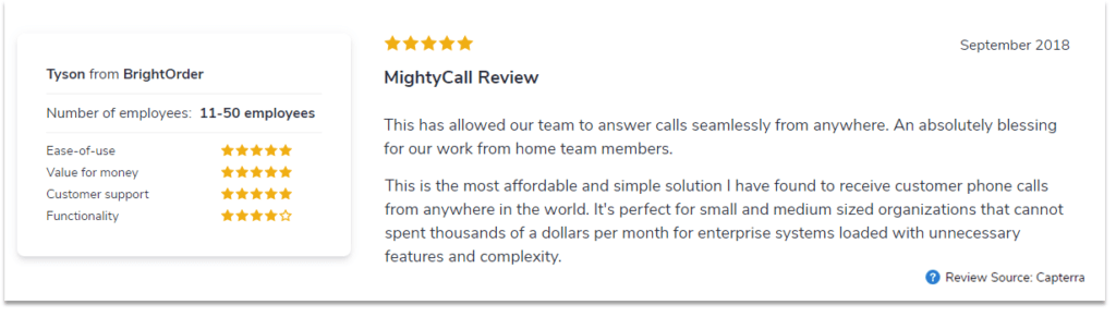 mightycall reviews