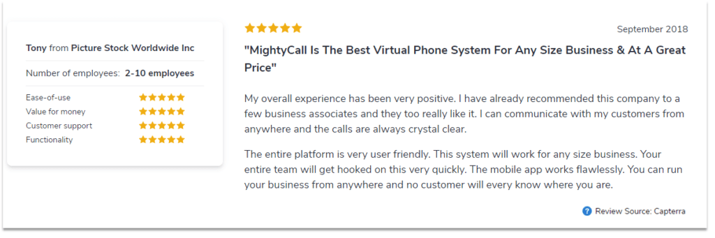 Best Alternative to RingCentral | MightyCall  VoIP for small