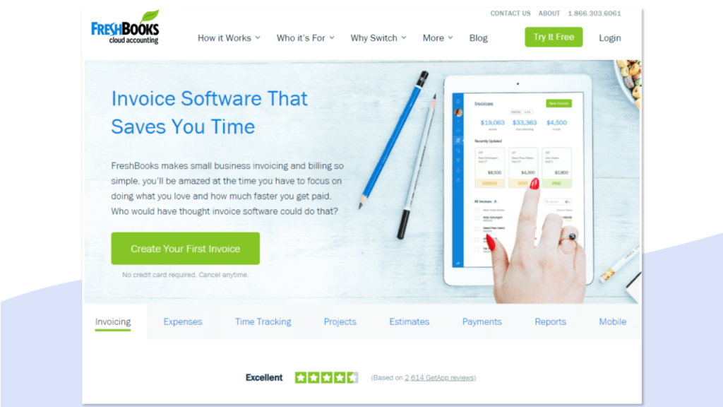best accounting software for small business freshbooks