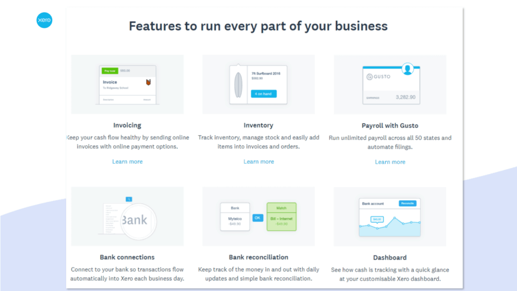 best accounting software for small business xero